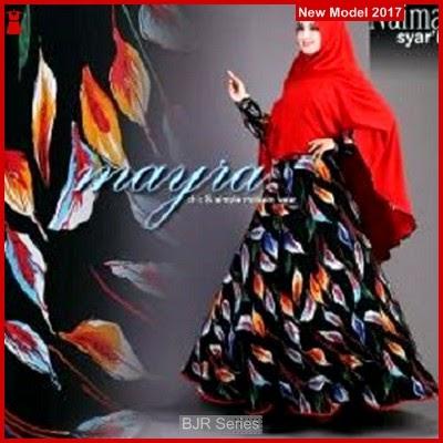 BJR055 F Syari Mayra Merah Murah Grosir BMG