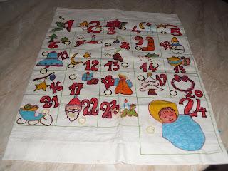 Calendario Dellavvento Punto Croce.La Baita Della Nonna Novembre 2012