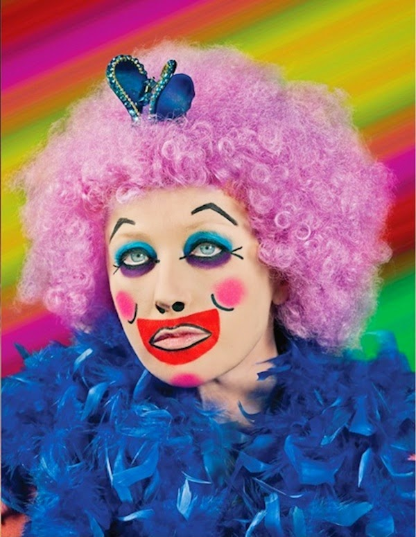 Cindy Sherman Clown Cover Girl For M.A.C. Cosmetics