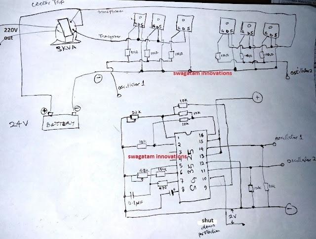 SG3525 Pure Sinewave Inverter 2000 watts