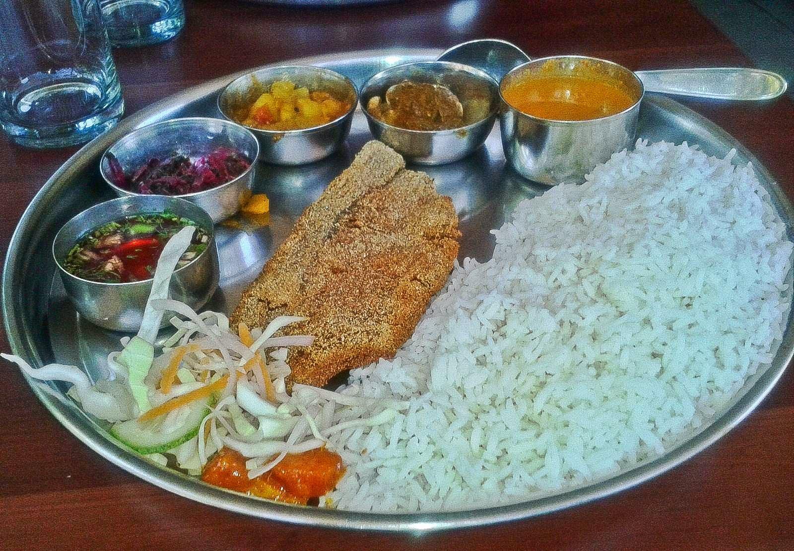 Foodaholix Agonda Goa Gomantak Thali