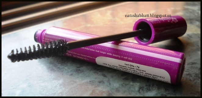 ba99c1b0533 The Mascara comes in their signature pink packaging of the Simply Pretty  Collection. Nothing fancy or great. I checked the ingredient list but the  print is ...