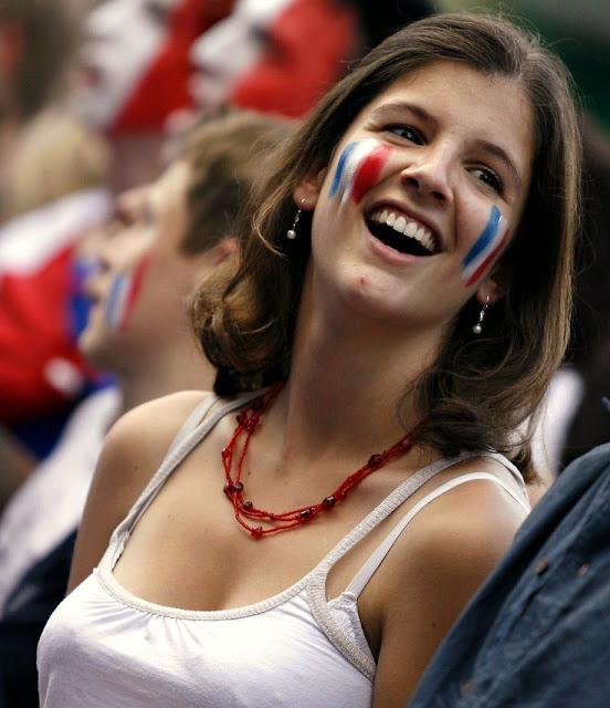 hinchas guapas mundial francia