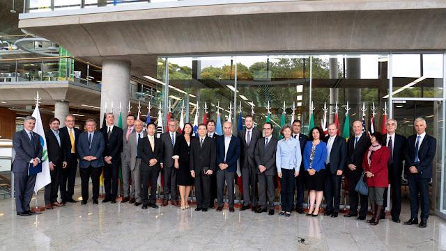 Horacio Rodríguez Larreta recibió a embajadores de países de la OCDE