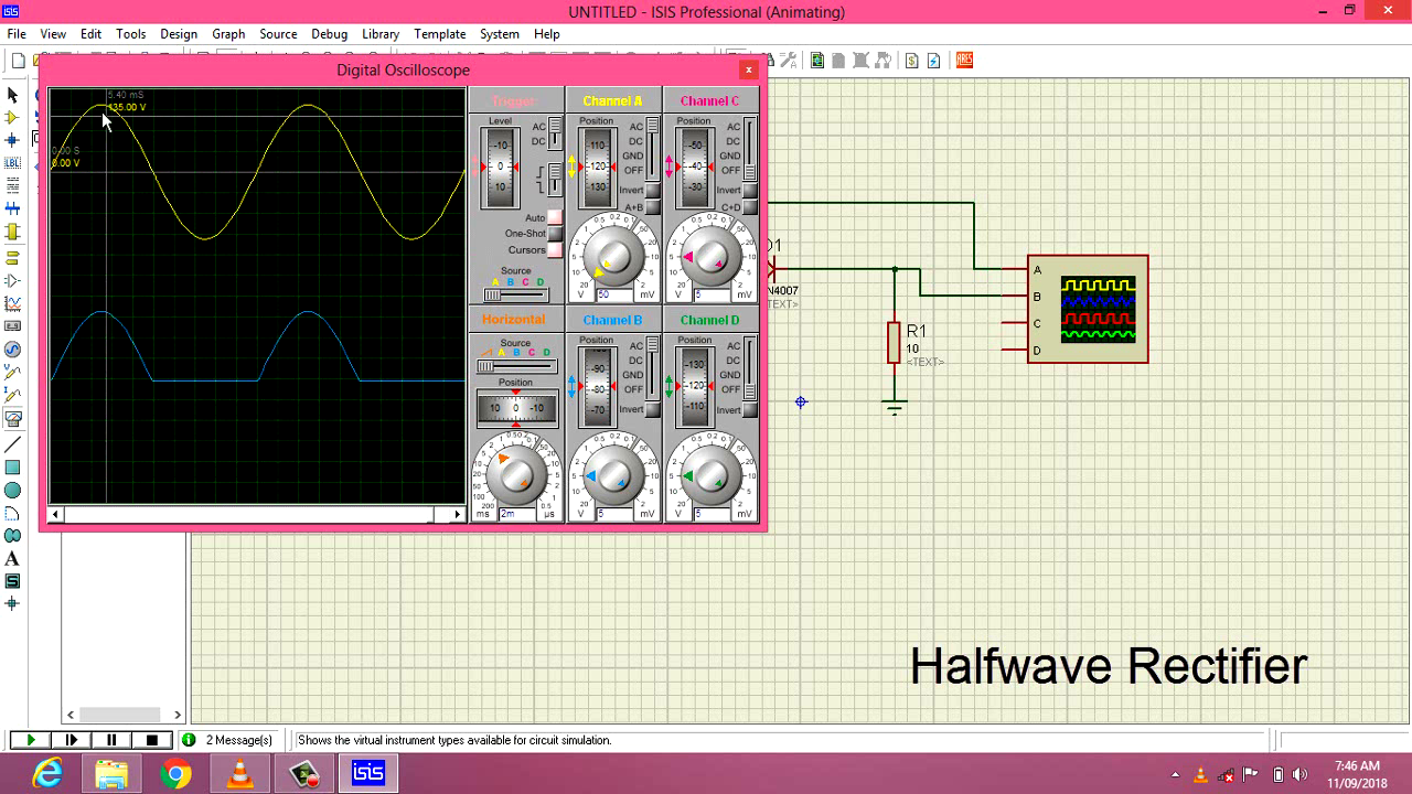 Guna Electronics Full Wave Rectifier Circuit With Averaging Filter Pictures Half Uses The Same Principle As Pn Junction Diode And Thus Converts Ac To Dc In A Load Resistance Is