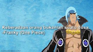 kata bergambar anime one piece kru anggota topi jerami