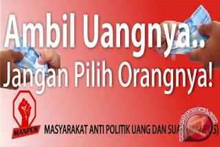 Survei: Warga Kota Bandung Masih Suka Politik Uang