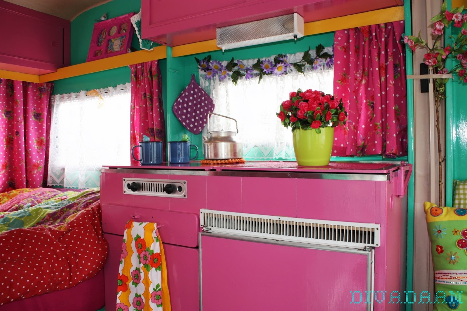 Keukenkastjes Pimpen Happymess: My Happy Caravan
