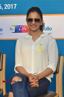 Actress Rakul Preet Singh at Endometriosis Awareness Walk at Apollo Cradle  0098.jpg