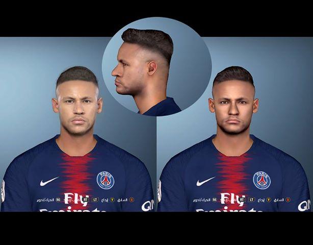 PES 2017 Neymar Face by Eslam Karem Facemaker