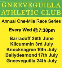 One-Mile Race Series - Every Wed 26th June to 24th July 2019