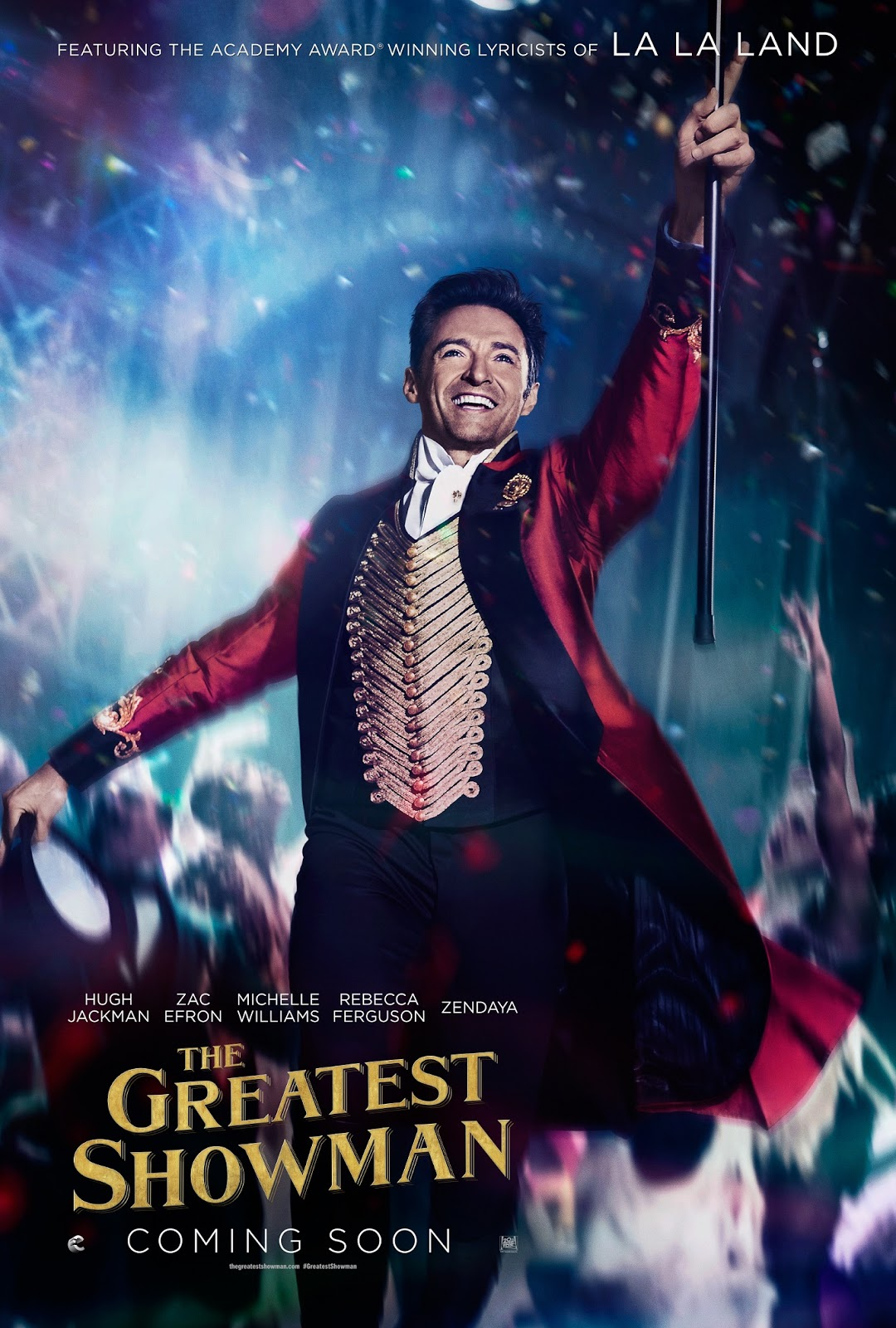 Off to a great spectacle with THE GREATEST SHOWMAN posters