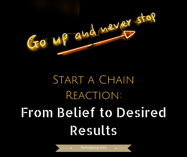 Start a Chain Reaction: From Belief to Desired Results