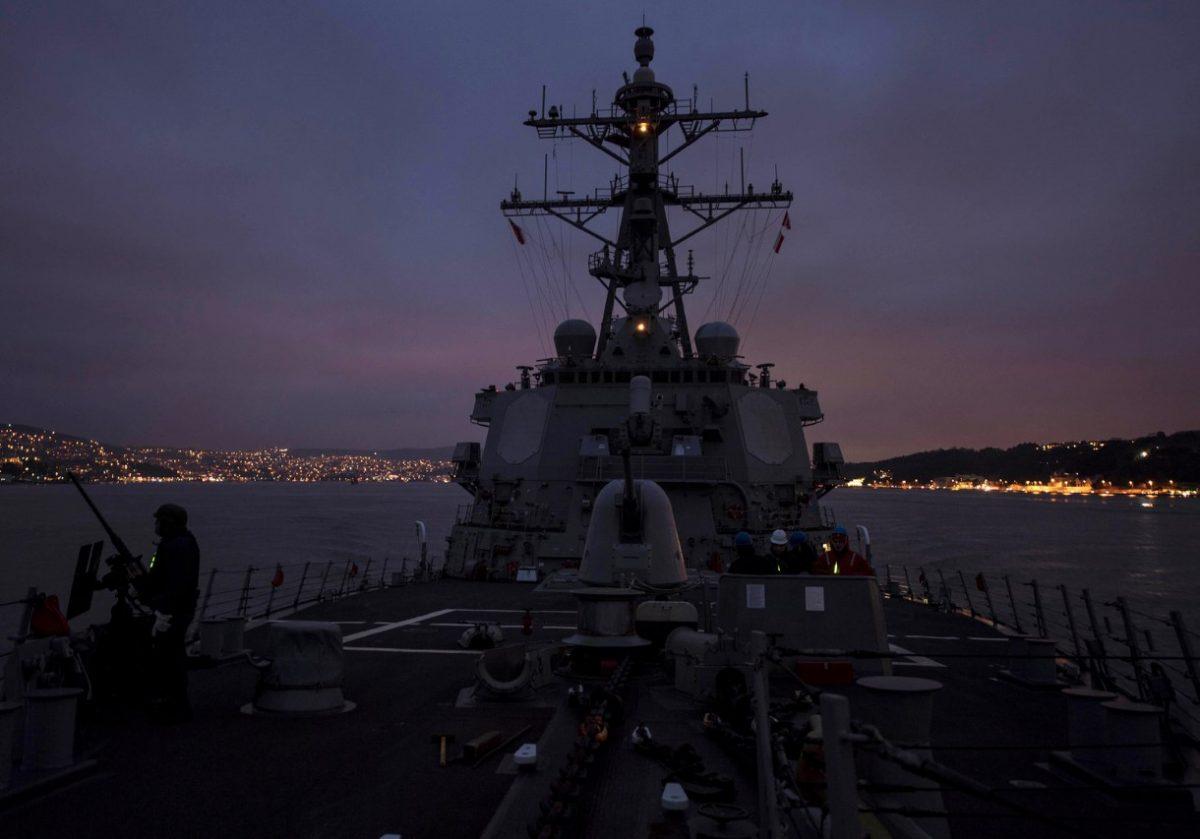 США наращивают военное присутствие в Черном море