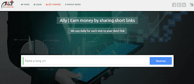 Al.ly url link shortner