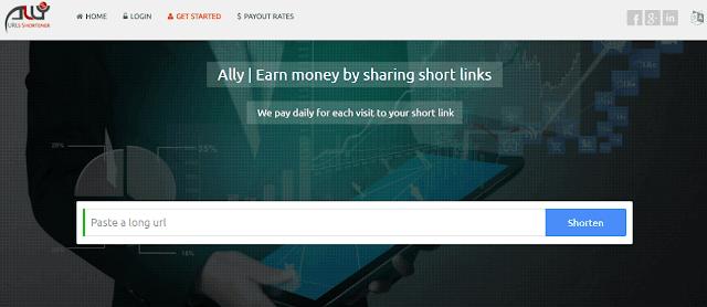 Al.ly url link shortner