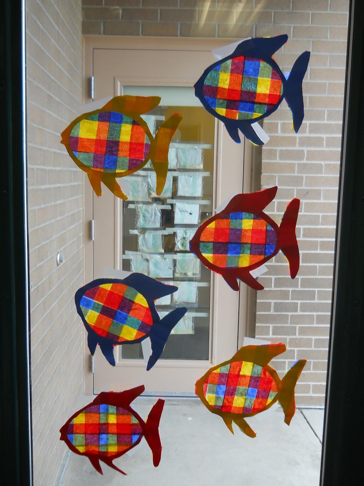 Mrs T S First Grade Class Rainbow Fish