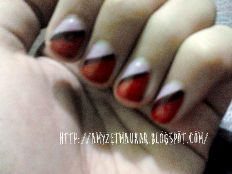 Review Nail Polish : Oriflame Pure Colour Nail Polish Red Classic, Lavender Shimmer, dan Berry Intense