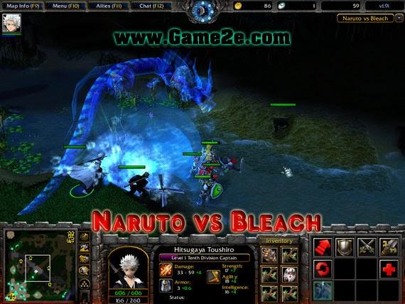 Naruto vs Bleach 2 0d