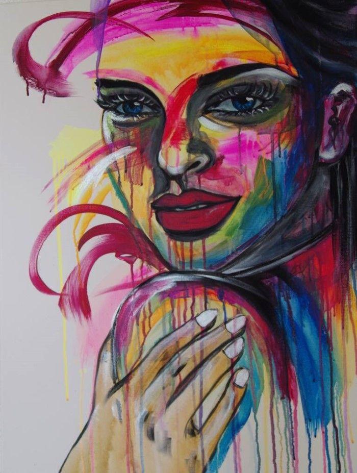 Цветы и лица. Haeran Boehler-Kim
