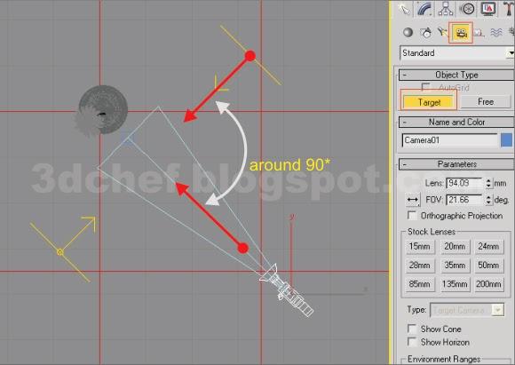 v-ray camera setting