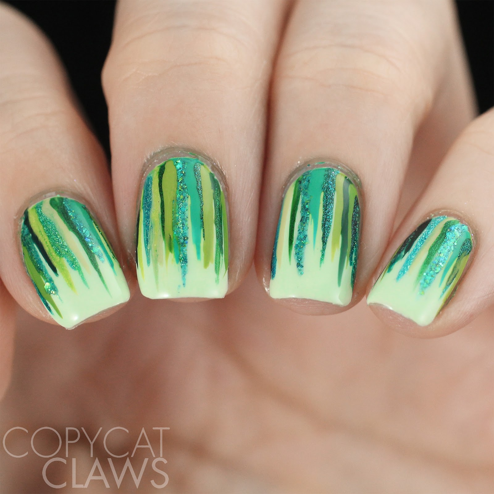 Copycat Claws: 26 Great Nail Art Ideas - Green Freestyle
