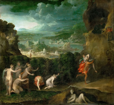 Niccolo dell'Abbate - Похищение Персефоны