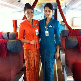 Model Baju Batik Untuk Pramugari Terbaru