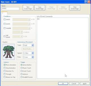 Menambahkan Karakter Monster dan Animasi Efek Kekuatan RPG Maker XP