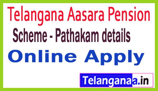 Telangana Aasara Pension Scheme - Pathakam details