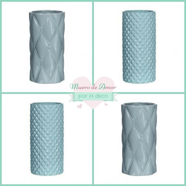 Jarrones Azules para Decorar tu Casa-Olhom-By Ana Oval-2
