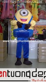 may bán mascot minions