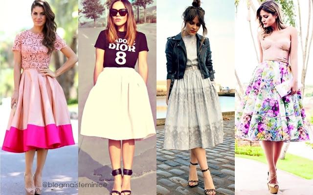 estilo lady like - saias midi