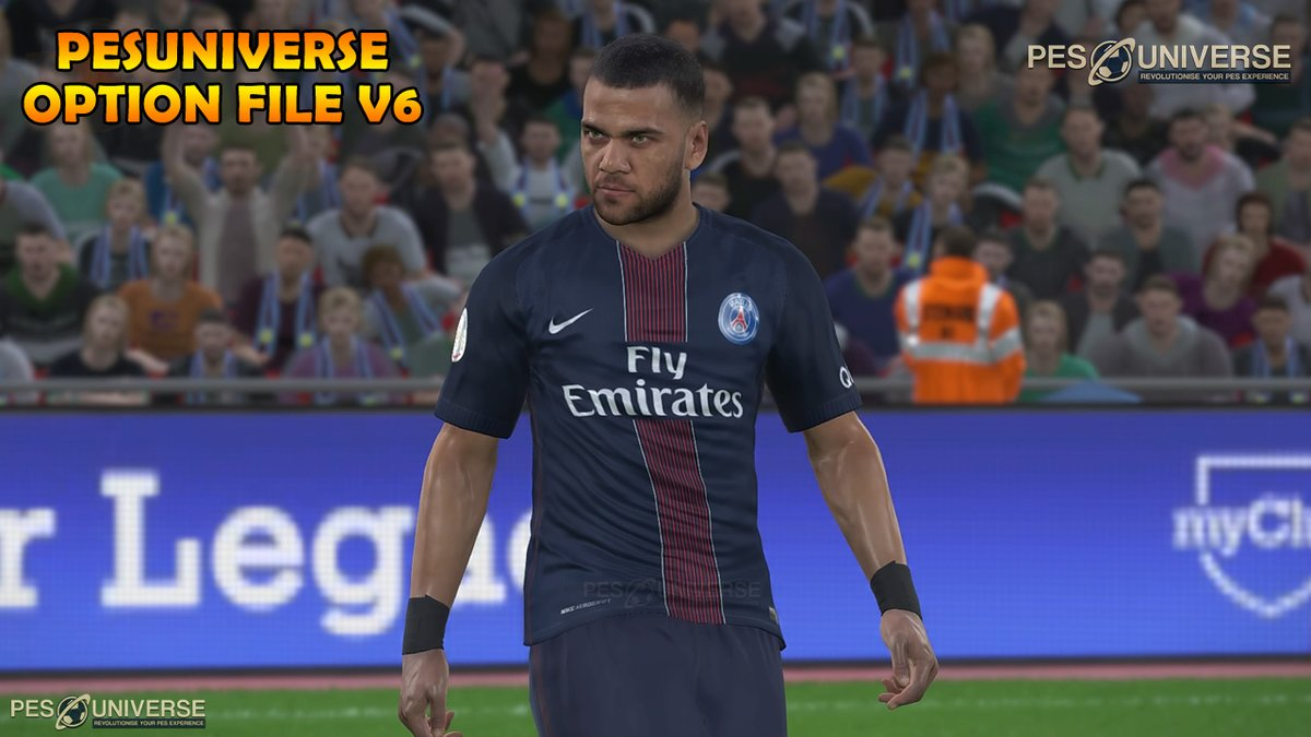 اوبشن فايل PES 2017 PES UNIVERSE OPTION FILE V6 2017/2018 DF5iEsAXoAANkZ9