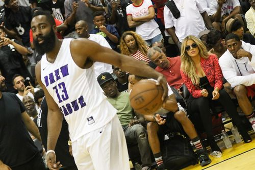 Khloe Kardashians friend James Harden