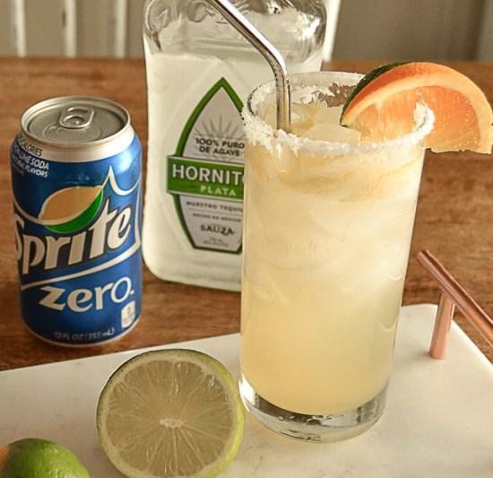 Skinny Margarita Recipe #drink #margaritas
