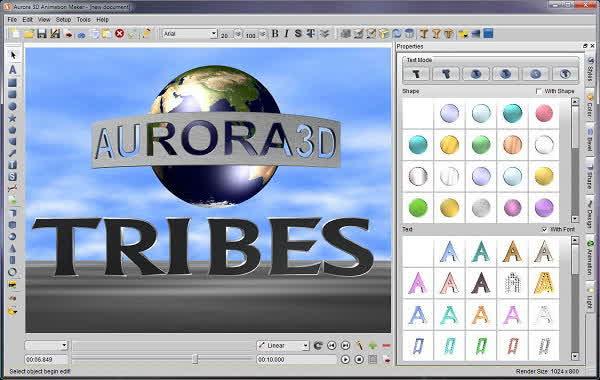 Aurora 3D Animation Maker 14 Crack + Serial Key Free Download