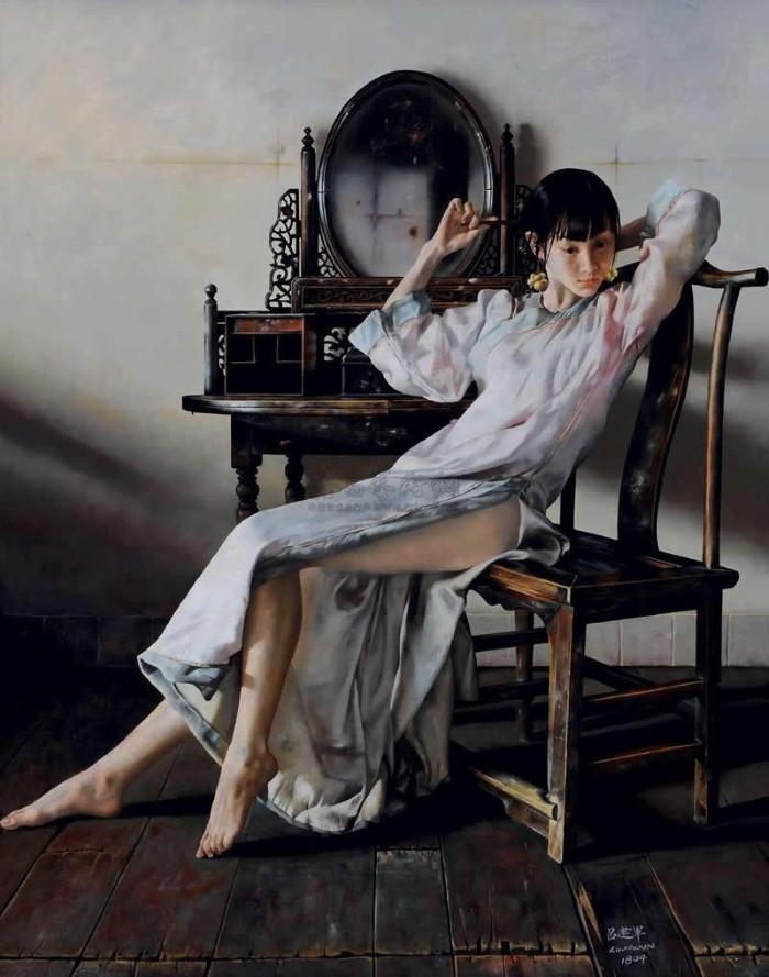 Академическая живопись. Lu JianJun 7