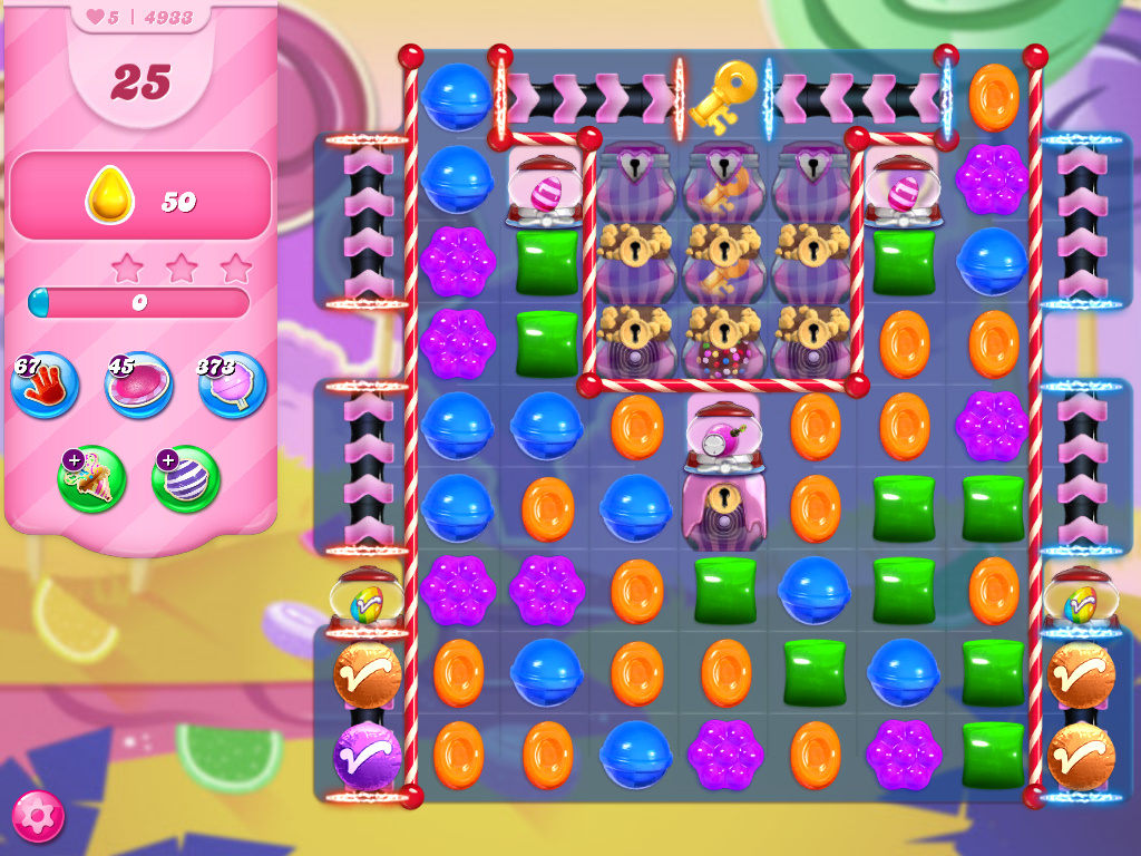 Candy Crush Saga level 4933