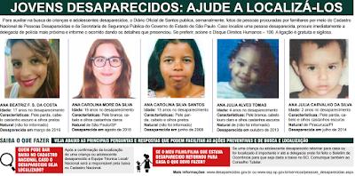 Fotos de Jovens Desaparecidos