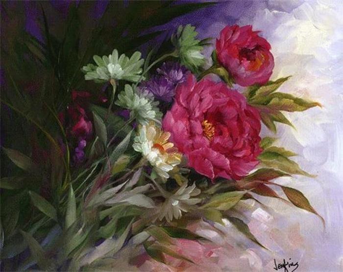 Цветочные картины. Gary Jenkins 15