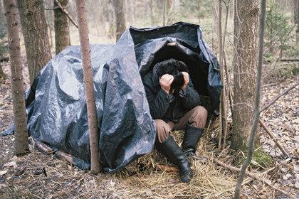Петербуржец, убивший милиционера, шесть летпрятался влесу