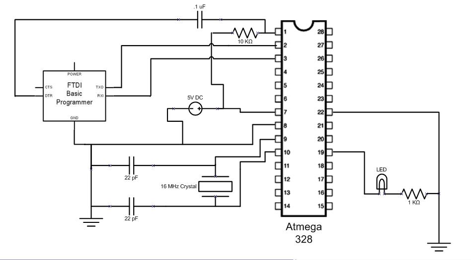 arduino ftdi cable schematic