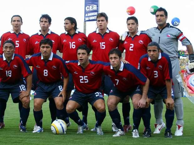 Formación de Chile ante Brasil, Clasificatorias Alemania 2006, 4 de septiembre de 2005