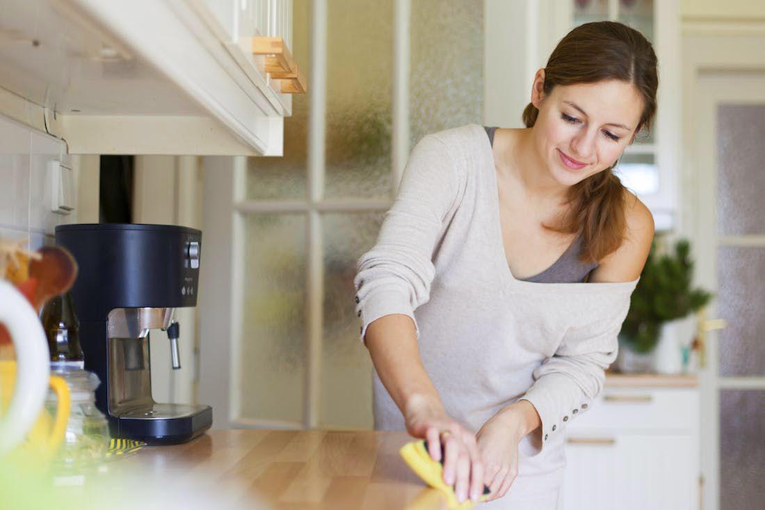 Cara membuat dapur rumah selalu bersih dan rapi (brit.co)