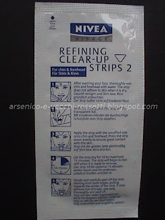 Nivea Clear-Up Strip zona T cerotti fronte e mento
