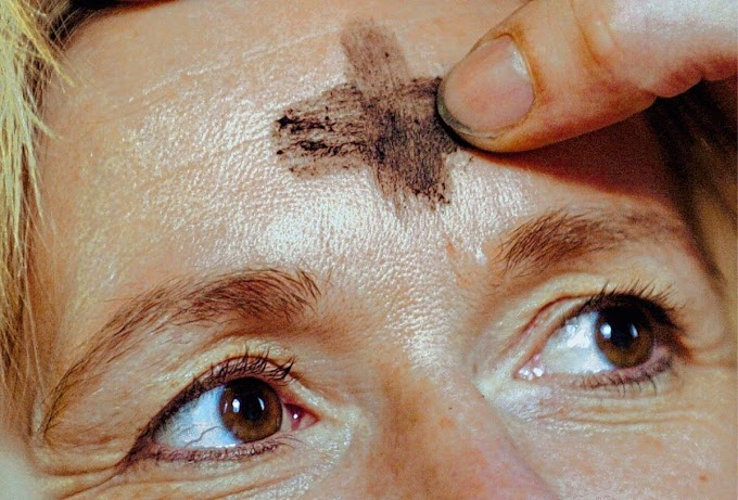 Ash Wednesday begins the church Lent