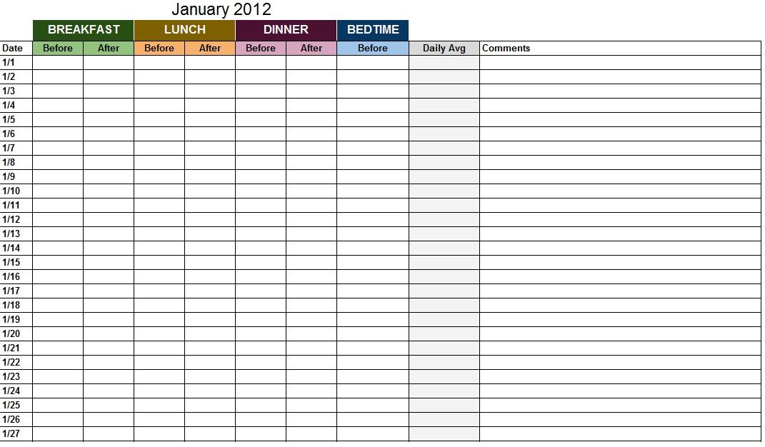 medication log template excel