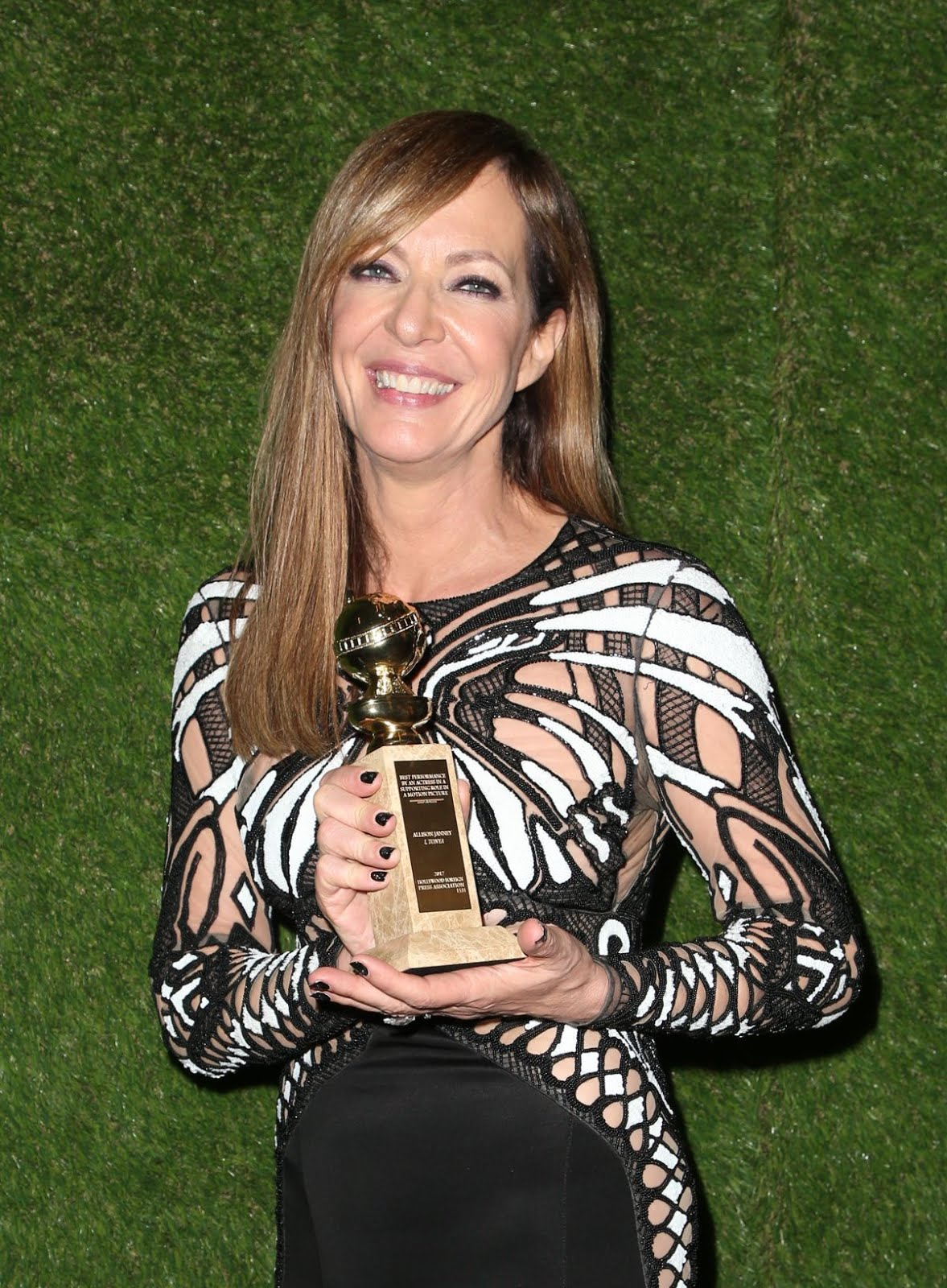 Allison Janney At 75Th Annual Golden Globe Awards In Beverly Hills
