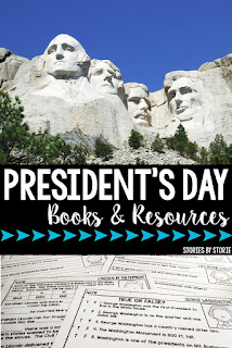 President's Day is just around the corner. I wanted to share some of my favorite books and resources to use in the classroom for this holiday.